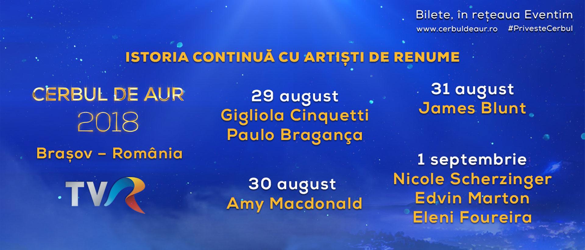 Concert International singers, Cerbul de Aur 2018