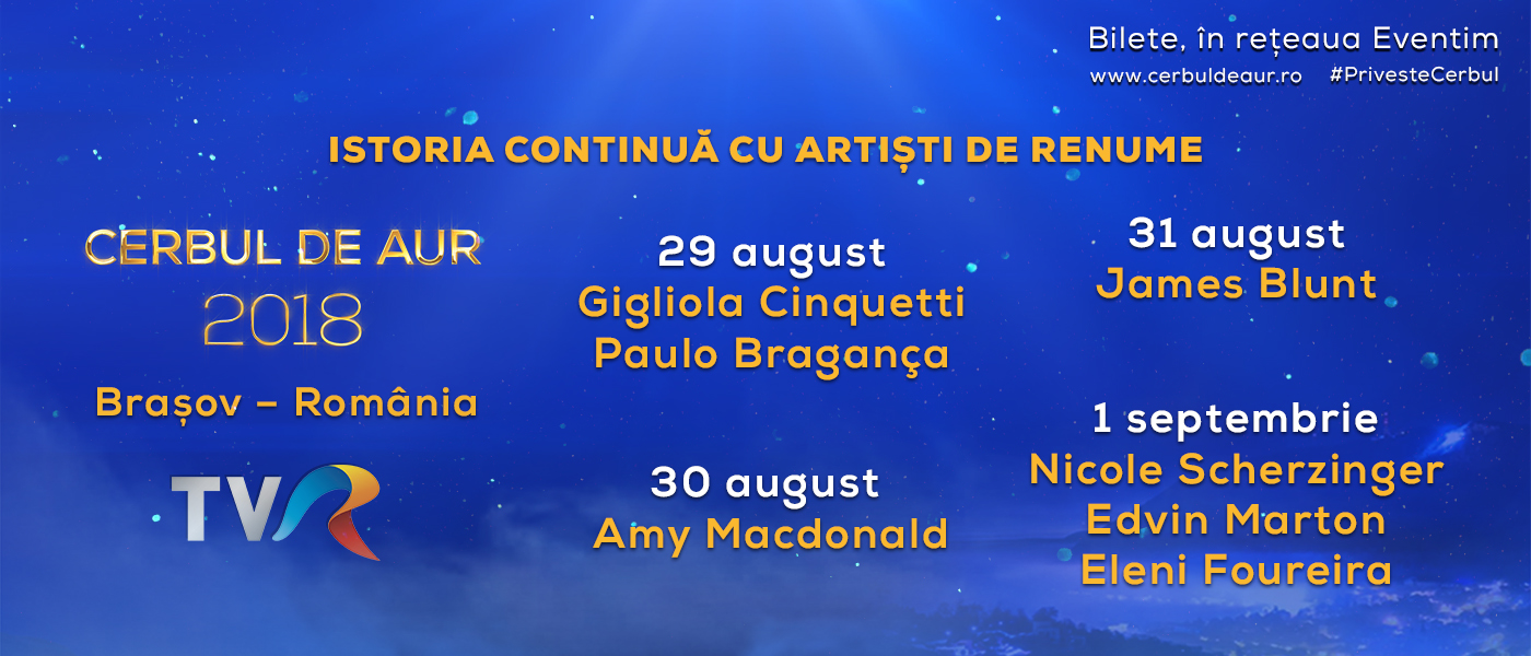 Concert International singers, Cerbul de Aur 2018